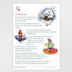 Mein Adventskalender - Jahreszeit Winter und Advent - Lernmaterial für Kinder